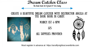 Dream Catcher Class @ The Book Nook